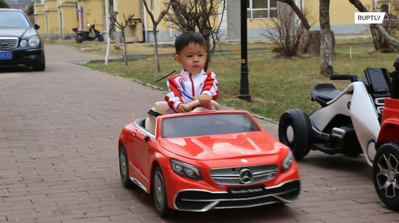 This 4-year-old driver is racing to become a social media sensation
