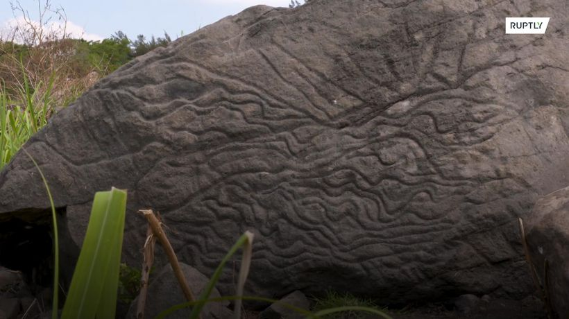 Archaeologists discover 2,000-year-old 'map stone' in Mexico