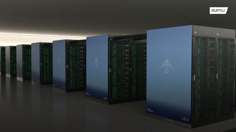 Supercomputer in Japan rated as world's fastest