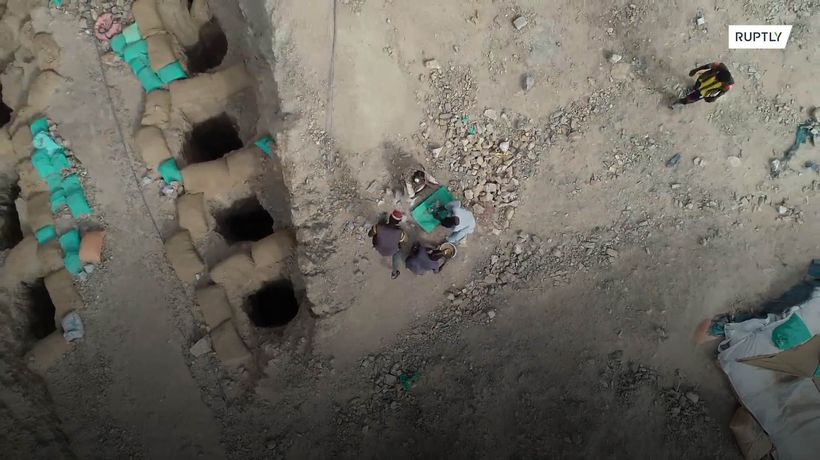 Miners risk their lives in the search for gold in Sudan