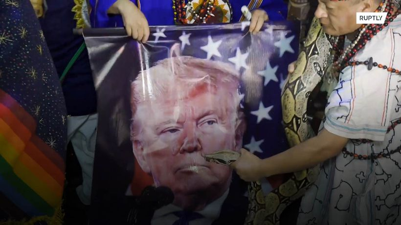 Even Peruvian shamans are divided over Trump and Biden