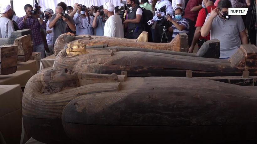 2,500-year-old sarcophagi discovered in Egypt