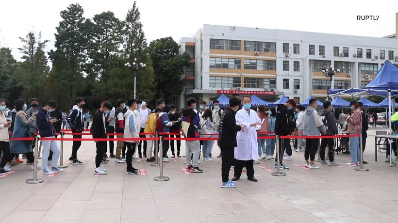 Chinese city to test nine million people for coronavirus in five days