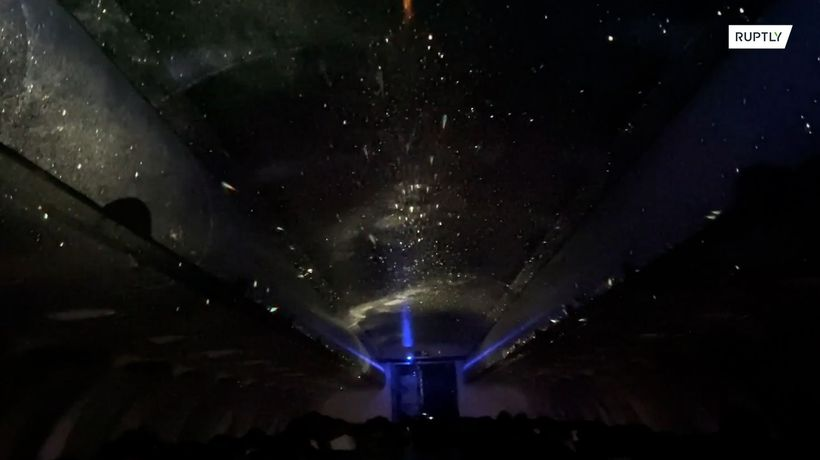 The universe inside an airplane! World's first planetarium aboard Japanese jet