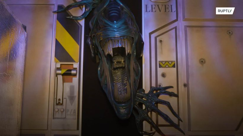 'Alien' aficionado replicates interior Nostromo ship