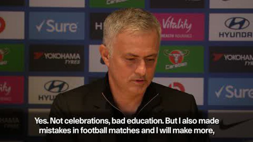 Mourinho 'accepts apology' from Chelsea staff member who celebrated in his face