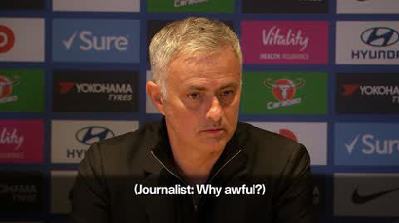 Mourinho bemoans 'awful result' for Manchester United after 2-2 draw at Chelsea