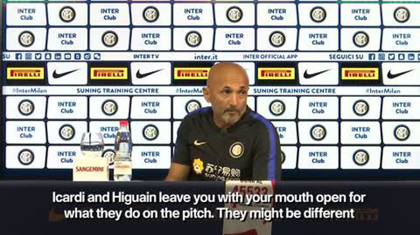 'Icardi and Higuain special players' Spalletti praises Inter and AC strikers