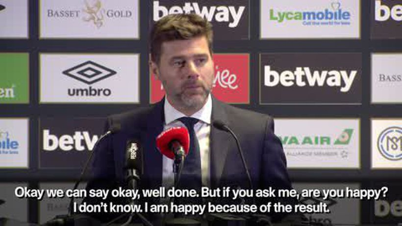 Pochettino urges January transfers for Spurs following 1-0 win over West Ham