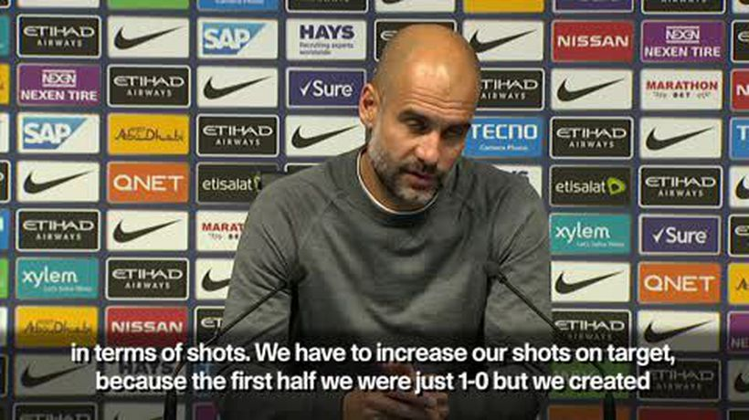 'We're best attacking side in Europe' Pep Guardiola praises Manchester City