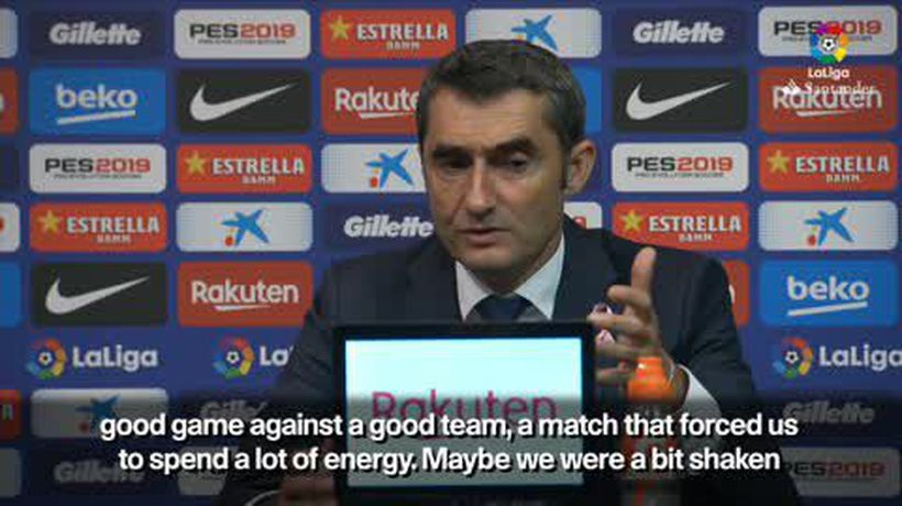 'Messi injury is a test for Barcelona' Valverde on injury to star player