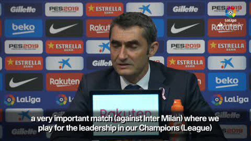 'El Clasico is special' Valverde on Real Madrid and Barcelona's challenging week