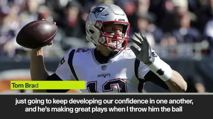 """""""We've just got to keep on doing it"""" Patriots QB Tom Brady after 38-31 win over Bears"""
