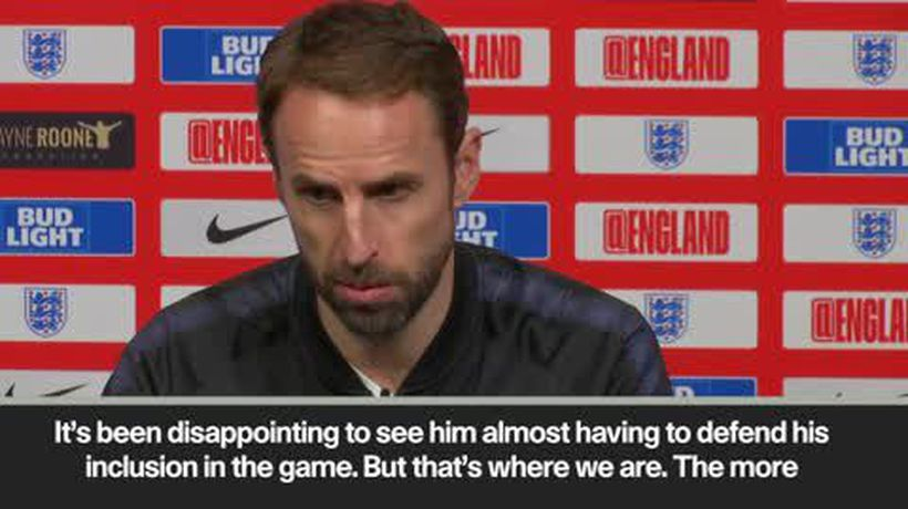 """Disappointing to see him have to defend his inclusion"" Southgate on Rooney"