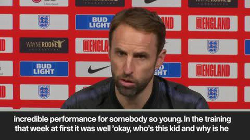"""Who's this kid & why is he in the squad"" Southgate on a young Rooney"