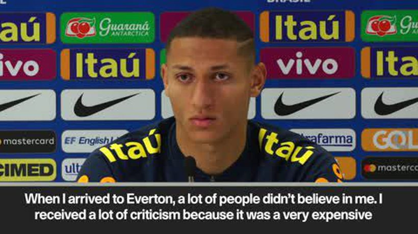 """A lot of people didn't believe in me"" Richarlison ahead of Brazil game v Uruguay"