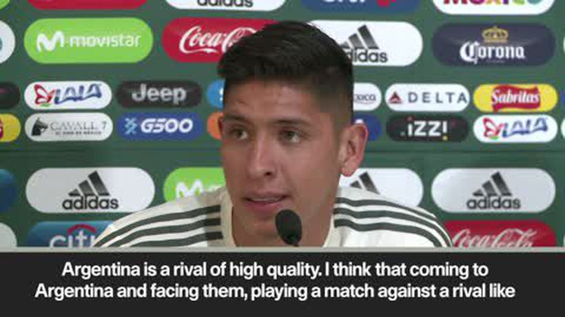"""We showed the world that we are superior to Germany"" - Mexico's Alvarez ahead of friendly v Arge..."