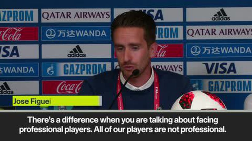 "Team Wellington coach Figueira says ""our players are not professional"", ahead of Al Ain clash"