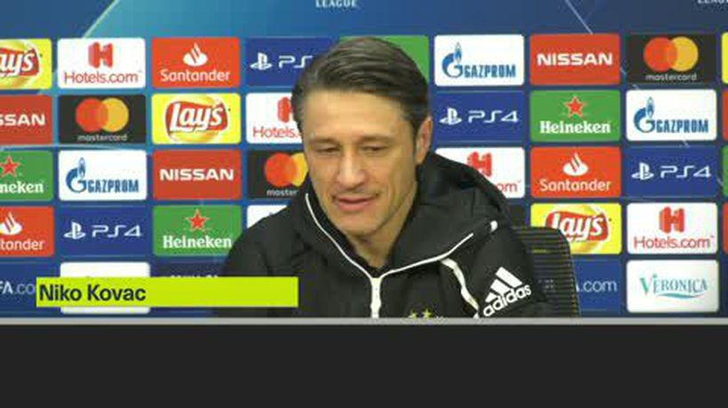 Kovac want's negative headlines to end with Champions League win against Ajax