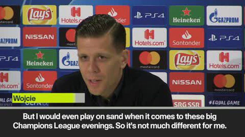 Allegri worries about artificial pitch, Szczesny would even play on sand for CL
