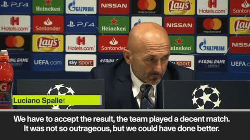 "Spalletti says Inter ""lost the shape"" in 1-1 draw against PSV Eindhoven"