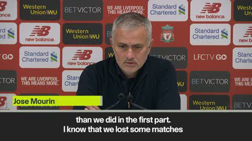 'Man U will gain much more points in the second half of the season' Mourinho