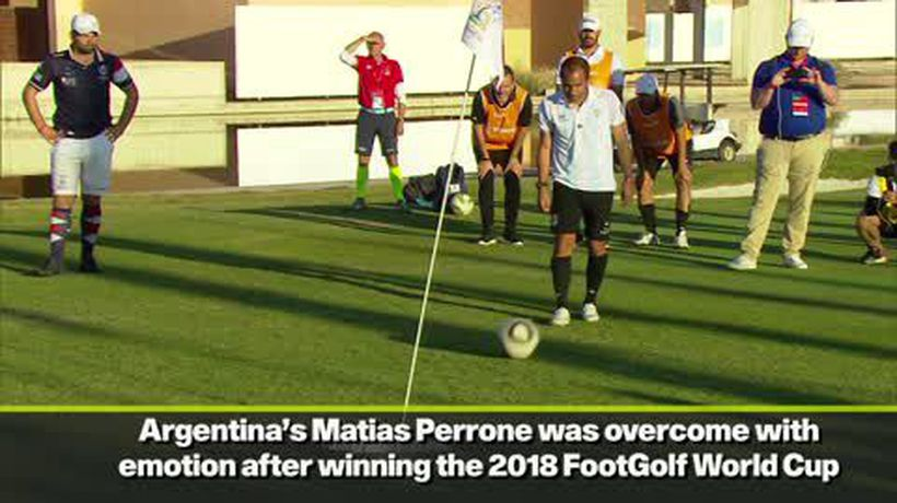 Matias Perrone and Sophie Brown become individual FootGolf World Cup champions