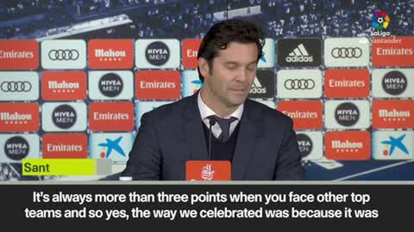 Solari - Real victory 'more than three points'
