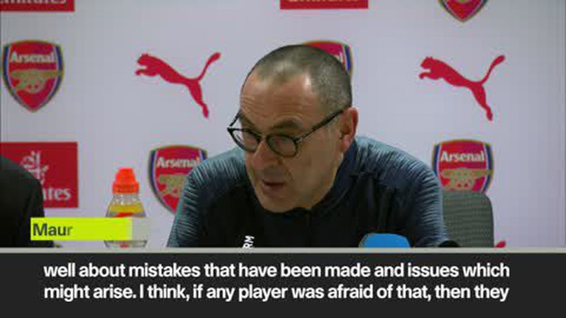 Chelsea players 'should not playing at this level' with current attitude says Sarri