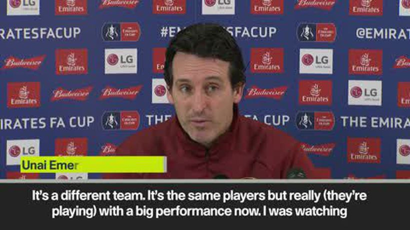 'Man Utd a new team under Solskjaer' - Emery on Arsenal opponents