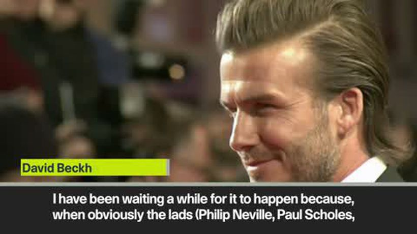 Beckham explains his 'exciting' investment in Salford City FC