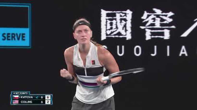 Kvitova & Osaka into Australian Open final