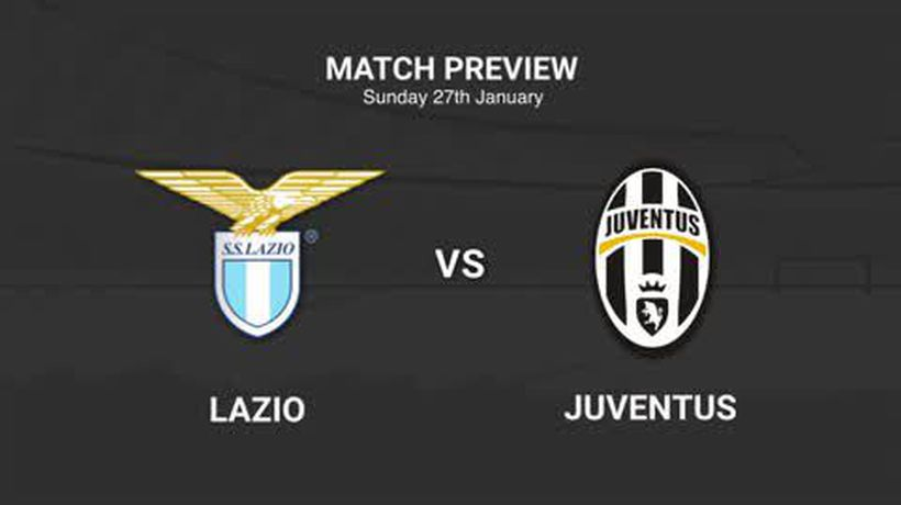 Data preview to Lazio v Juventus in Serie A
