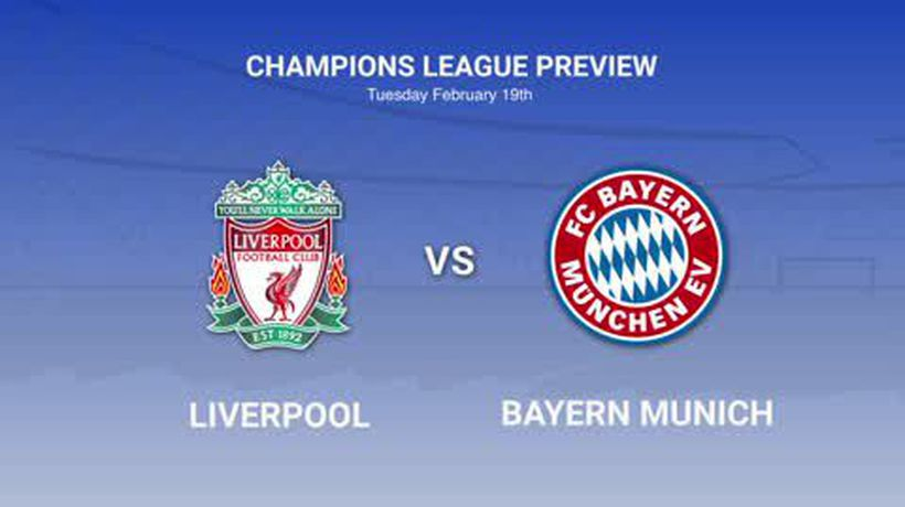 Data preview ahead of Liverpool's UEFA Champions League clash with Bayern Munich