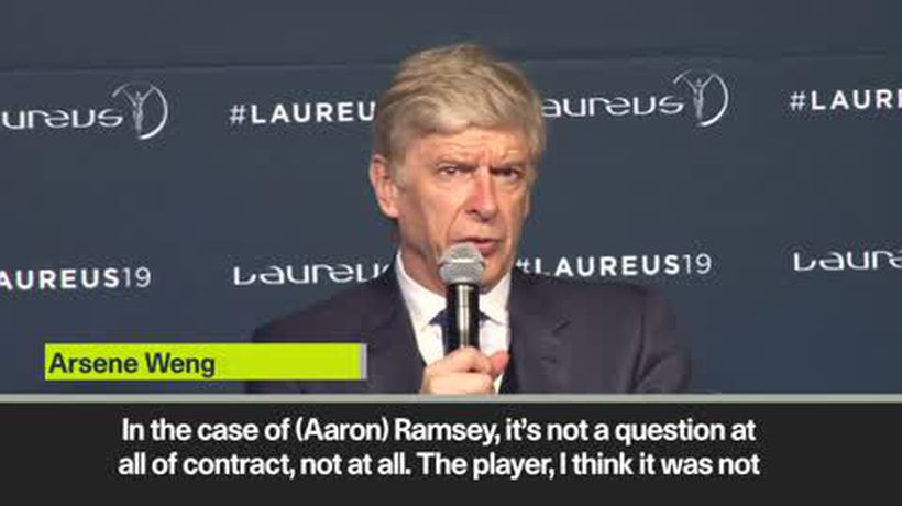 'Ramsey would've stayed under me' - Wenger