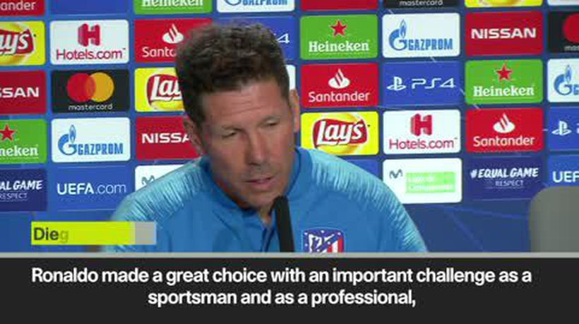 Simeone not thinking about Ronaldo