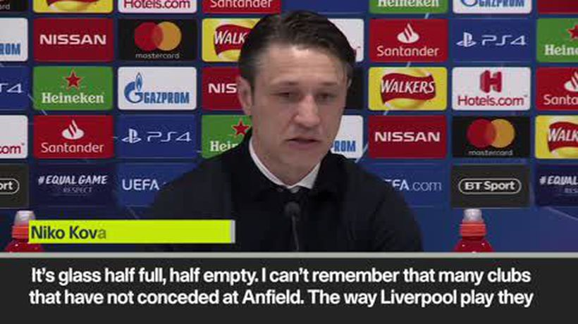 'It's half-full, half-empty' Kovac on Liverpool draw