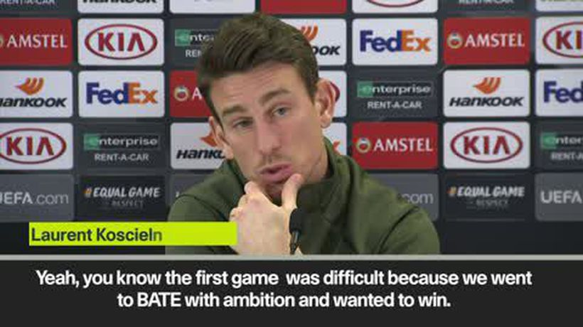 'Arsenal want to go to Europa League final' Koscielny