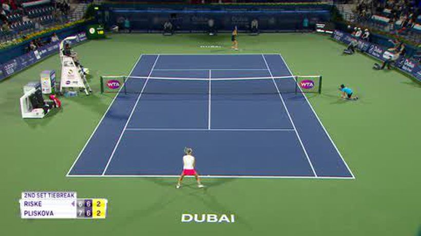 Svitolina eases past Muguruza, Pliskova edges past Riske in Dubai