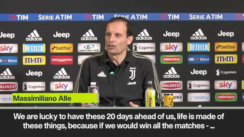"Allegri calls Atletico defeat ""a nice little shock"""