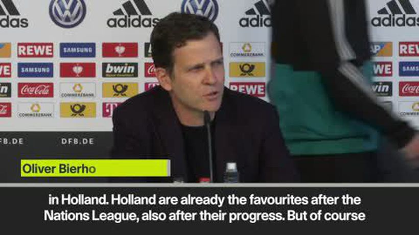 'Holland favourites to beat Germany' - Bierhoff