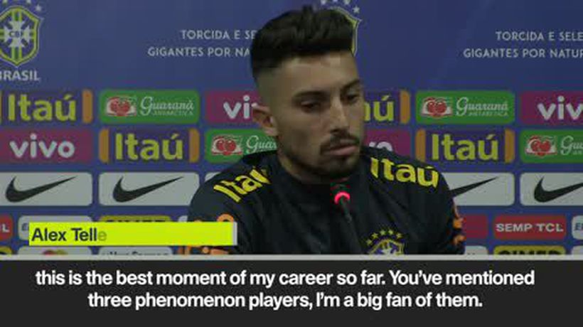 Marcelo was my role model - Telles on Brazil's left-back competition