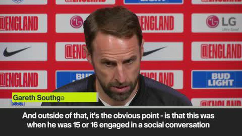 Southgate defends Rice over IRA posts