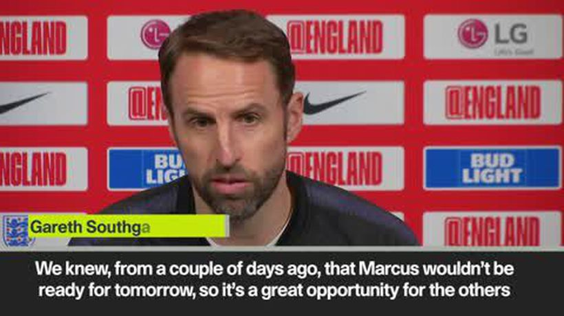 'Rashford's injury is opportunity for others' Southgate