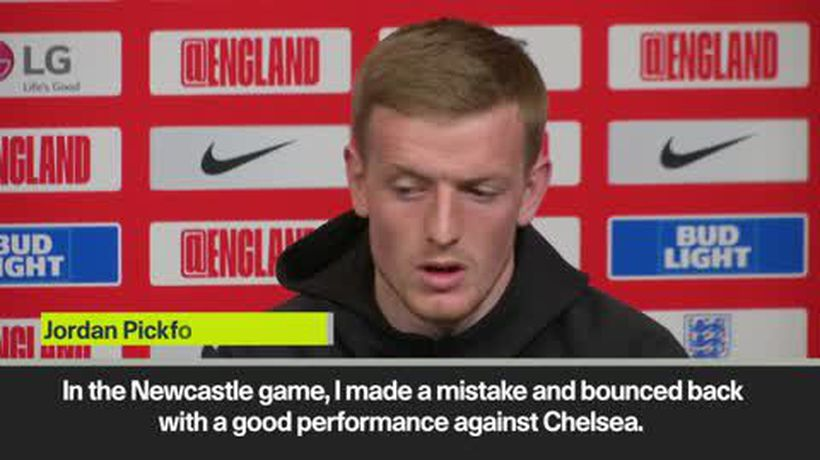Pickford confident about his form ahead of Czech Republic match