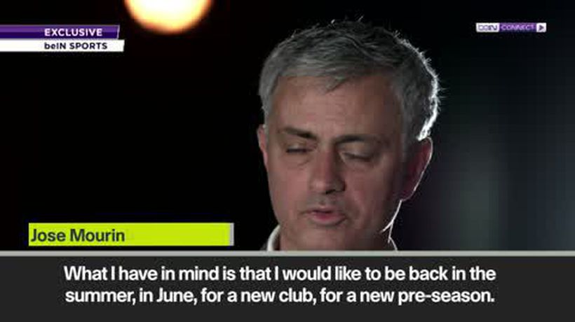 Mourinho targets June return as he rejects 'three or four' job offers