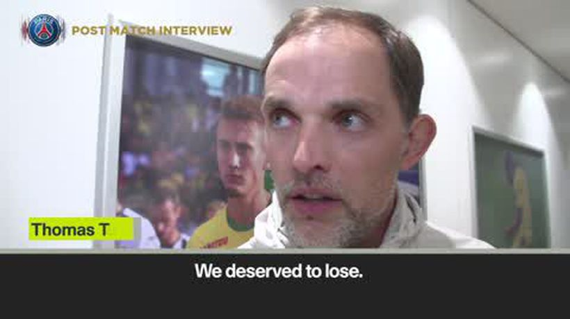 'We deserved to lose' - Tuchel fuming after PSG fail again to clinch Ligue 1 title