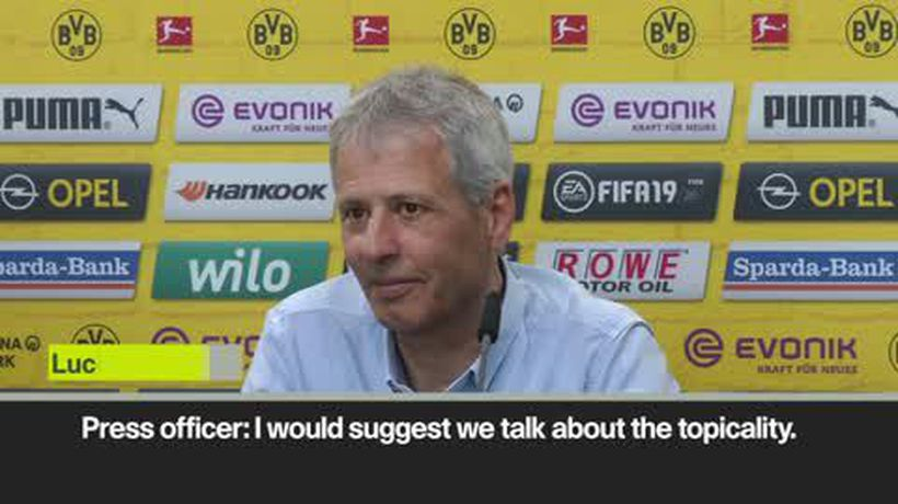 Favre comments on the Hazard rumours
