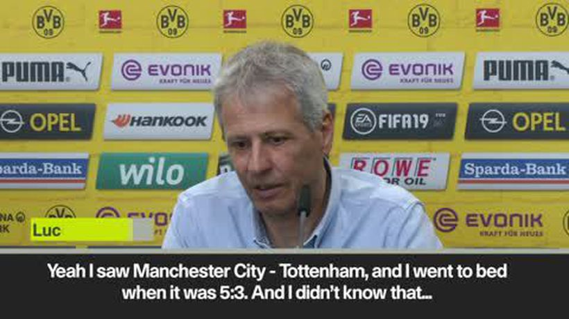 'I went to bed thinking it was 5-3' Favre on Tottenham – Man City