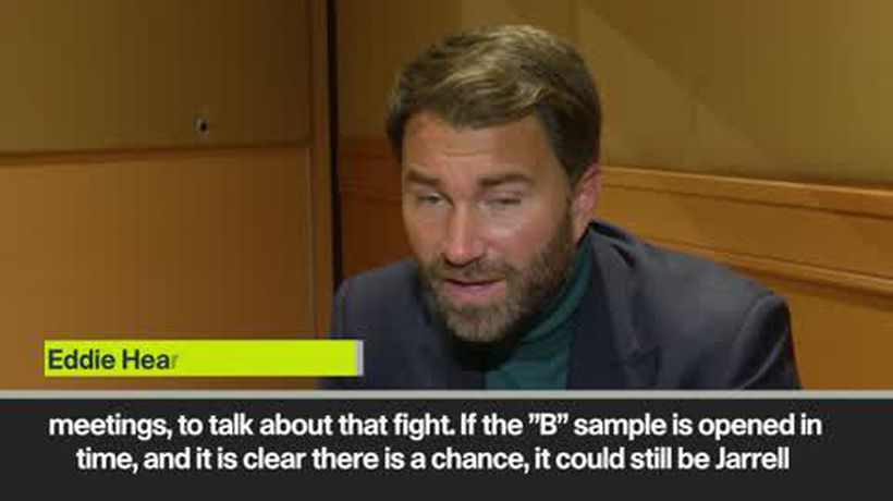 'The search is on' Hearn on the search for Joshua's new challenger